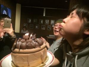 ケーキをもらう1