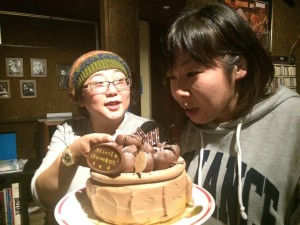 ケーキをもらう2